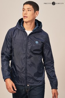 Pretty Green Navy Darley Jacket