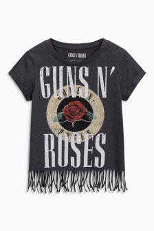 Guns N' Roses Fringe T-Shirt (3-16yrs)