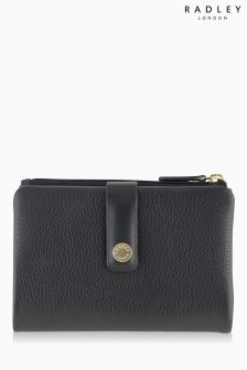 Radley Black Larks Wood Purse