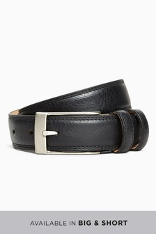 Signature Double Loop Leather Belt