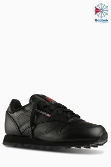 Reebok Classics Black Classic Leather