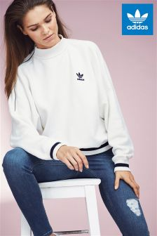 adidas Originals White Sweater