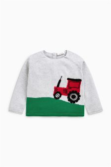 Tractor Jumper (0mths-2yrs)