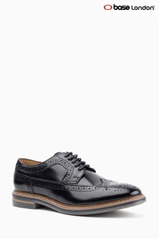 Base London Black Turner Lace-Up Shoe