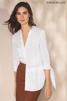 Karen Millen White Tunic Shirt