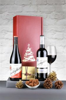 2 Bottle Festive Rioja Wine Gift