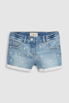 Embroidered Shorts (3-16yrs)