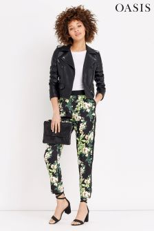 Oasis Tropical Orchid Trouser