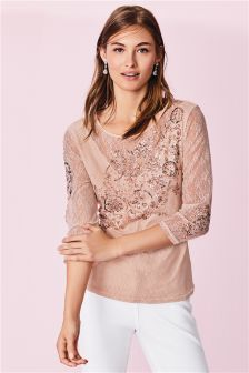 Embellished Top