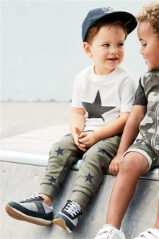 Short Sleeve Star T-Shirt And Joggers Set (3mths-6yrs)