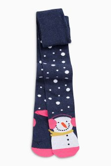 Snowman Tights (3-16yrs)