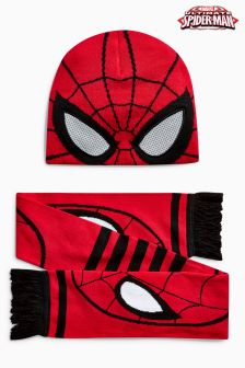 Spider-Man™ Hat And Scarf Set (Older Boys)