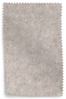 Distressed Velour Silver Fabric Roll