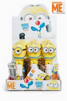 12 Pack Minions Pop Up Sweets