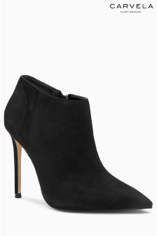 Carvela Sandy Black Pointed Shoe