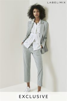 Mix/Teatum Jones Straight Leg Tailored Trouser