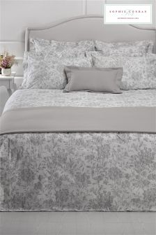 Sophie Conran Grey Windsor Duvet Cover