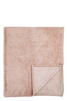 Pink Fleece Throw