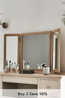 Hampton Grey Dressing Table Mirror