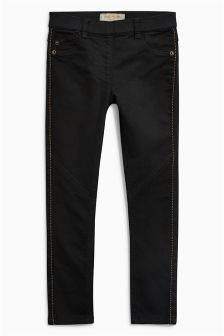 Bead Side Jeggings (3-16yrs)