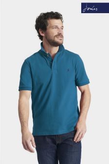 Joules Teal Classic Fit Woody Polo