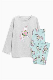 Unicorn Legging Pyjamas (3-16yrs)