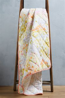 Meadow Floral Throw
