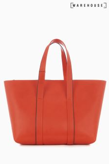 Warehouse Orange Bonded Shopper