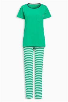 Jersey Short Sleeve Pyjamas