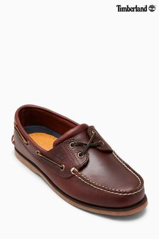 Timberland® Rootbeer Brown 2 Eyelet Boat Shoe