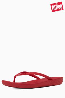 FitFlop™ Classic Red Iqushion Ergonomic Flip Flop
