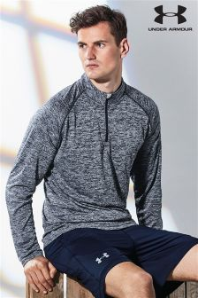 Under Armour Navy Twist 1/4 Zip Top