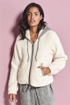Sheepy Zip Hoody