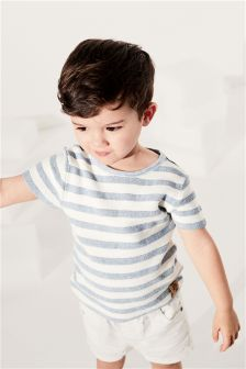 Knitted Stripe Tee (3mths-6yrs)