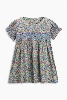 Ditsy Smock Dress (3mths-6yrs)