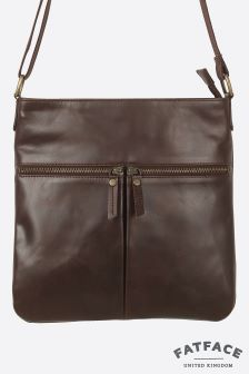 Fat Face Peat Alice Double Zip Cross Body Bag