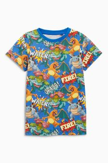 All Over Print Pokémon™ T-Shirt (3-14yrs)