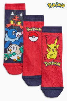Pokémon™ Socks Three Pack (Older Boys)