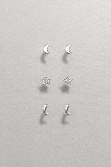 Cosmic Initial Earrings Pack