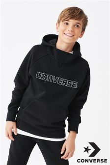 Converse Textured Knit Overhead Hoody