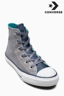 Converse Grey Chuck Taylor All Star Hi