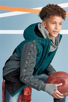 Longer Line Padded Bomber (3-16yrs)
