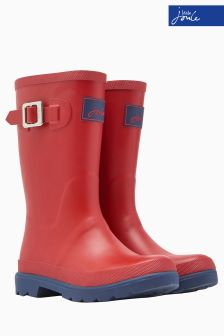 Joules Boys Red Field Welly