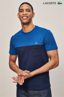 Lacoste® Navy Blue/Marino Colourblock T-Shirt