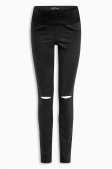 Slash Knee Skinny Jeans