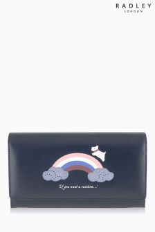 Radley Navy Rainbow Matinee Purse