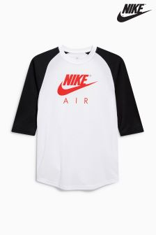 Nike White Air 3/4 Sleeve T-Shirt