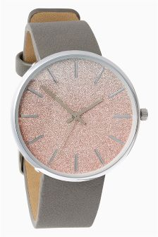 Ombre Sparkle Face Watch