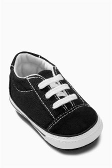 Pram Lace-Up Shoes (Younger)