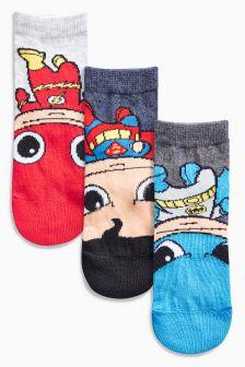 DC Comics Socks Three Pack (Younger Boys)
